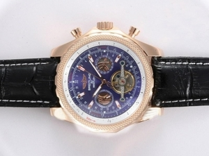 Fancy Breitling for Bentley Automatic Tourbillon Rose Gold Case AAA Watches [P3J9]