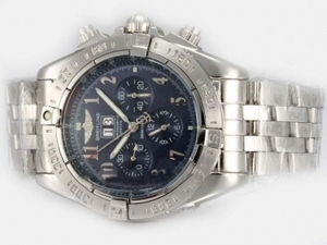 Gorgeous Breitling Black Bird Chronograph Automatic with Blue Dial AAA Watches [O5V2]