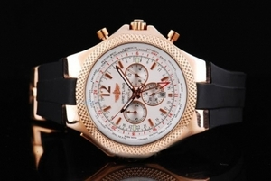 Gorgeous Breitling For Bentley Automatic Movement Rose Gold Case AAA Watches [N5J6]
