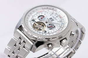 Gorgeous Breitling for Bentley Motors Automatic Tourbillon Skeleton AAA Watches [A2F5]