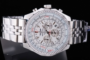 Gorgeous Breitling for Bentley Motors Chronograph Quartz Movement AAA Watches [C8N7]