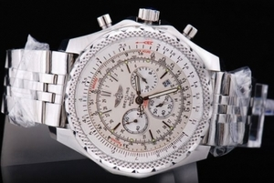 Great Breitling Bentley Chronograph Quartz Movement Beige Dial AAA Watches [N5E7]