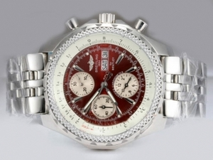 Great Breitling Chrono Avenger Chronograph Automatic with Red Dial AAA Watches [E5K1]