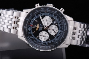 Great Breitling Navitimer Quartz Working Chronograph Movement AAA Watches [H4A2]