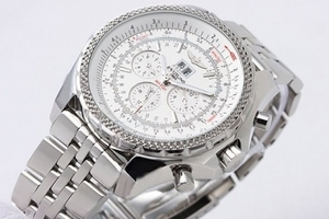 Modern Breitling Bentley 6.75 Big Date Automatic Movement Silver Case AAA Watches [E7G9]