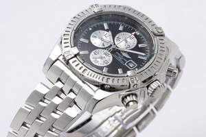 Modern Breitling Chronomat Evolution Working Chronograph Quartz AAA Watches [L8T5]
