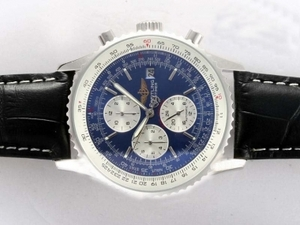 Modern Breitling Navitimer Chronograph Automatic with Blue Dial AAA Watches [I6W7]
