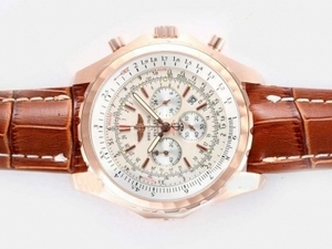 Modern Breitling for Bentley Motors T Working Chronograph Rose Gold Case AAA Watches [P8R2]
