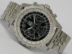 Perfect Breitling Bentley 6.75 Big Date Chronograph Automatic with Black Dial AAA Watches [H6C7]