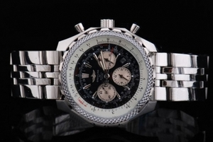 Perfect Breitling For Bentley Asia Valjoux 7750 Automatic Movement White AAA Watches [B8J5]