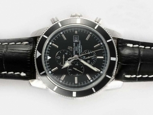 Perfect Breitling Super Ocean Chronograph Automatic with Black Dial AAA Watches [B3D4]