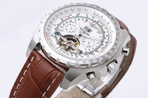 Perfect Breitling for Bentley Motors Automatic Tourbillon with White Dial AAA Watches [K7S2]