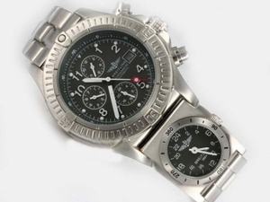 Popular Breitling Chrono Avenger/UTC Chronograph Automatic with Gray Dial AAA Watches [G1A3]