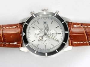 Popular Breitling Super Ocean Chronograph Automatic with White Dial AAA Watches [R9X1]