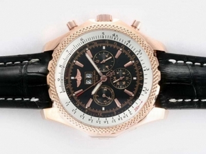 Quintessential Breitling Bentley Flying B Chronograph Automatic -Svart Dial AAA Klokker [P2Q9]