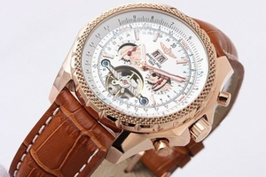 Quintessential Breitling for Bentley Motors Automatic Tourbillon Skeleton AAA Watches [O5G5]