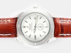 Quintessential Breitling Super Ocean Automatic with White Dial AAA Watches [R7R8]