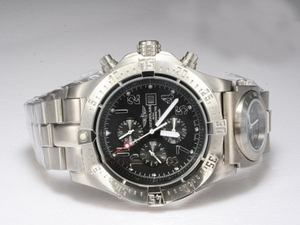 Vintage Breitling Chrono Avenger Chronograph Automatic with Black Dial AAA Watches [T4T1]