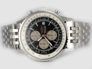 Vintage Breitling Navitimer Working Chronograph with Black Dial AAA Watches [H3G3]