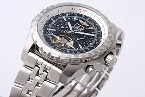 Vintage Breitling for Bentley Motors Automatic Tourbillon with Black Dial AAA Watches [S2R5]