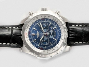 Vintage Breitling for Bentley Motors T Working Chronograph with Blue Dial AAA Watches [P2F8]