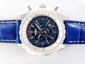 Vintage Breitling for Bentley Motors Working Chronograph with Blue Dial AAA Watches [B6H3]