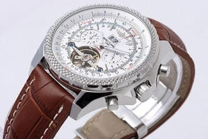 Breitling for Bentley Vintage Tourbillon Chronograph relógios automáticos AAA [N3T9]