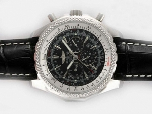 Modern Breitling For Bentley Motors Chronograph Automatic with Black Dial AAA Watches [G7P2]