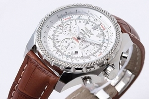 Modern Breitling for Bentley Motors Chronograph Automatic with White Dial AAA Watches [V1F3]