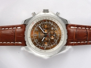 Modern Breitling for Bentley Motors Working Chronograph with Brown Dial AAA Watches [S7F2]