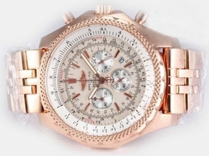 Modern Breitling for Bentley Motors Working Chronograph Full Rose Gold AAA Watches [P9E2]