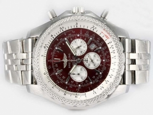 Modern Breitling for Bentley Motors Working Chronograph with Brown Dial AAA Watches [O8H1]
