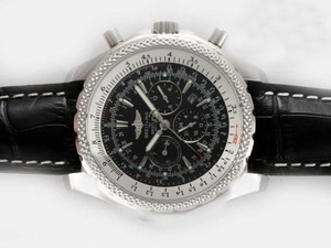 Perfect Breitling For Bentley Motors Chronograph Automatic with Black Dial AAA Watches [B1N9]