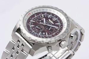 Perfect Breitling For Bentley Working Chronograph Quartz with Brown Dial AAA Watches [L3U9]