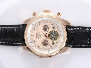 Perfekt Breitling for Bentley Automatiske Tourbillon Rose Gold C