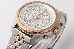 Vintage Breitling For Bentley Chronograph Quartz Movement Rose Gold Bezel AAA Watches [T7W8]