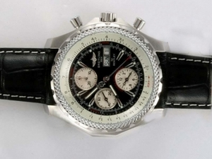 Vintage Breitling for Bentley GT Chronograph Automatic with Black Dial AAA Watches [O5H6]