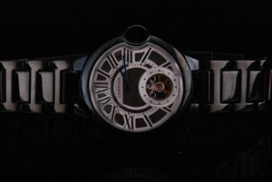 Cool Cartier Ballon Bleu de Cartier Automatic PVD Case with Black Dial AAA Watches [X7N9]