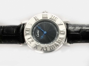 Fancy Cartier Classic with Black Dial Couple AAA Watches [T9K5]