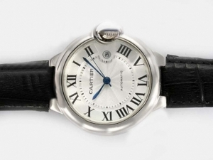 Gorgeous Cartier Ballon Bleu de Cartier Automatic with White Dial-42MM AAA Watches [T4N1]
