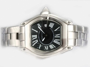 Gorgeous Cartier Roadster with Black Dial-Ladys Model AAA Watches [Q3L3]