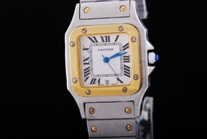 Great Cartier Santos 100 quartz with White Dial-29MM AAA Watches [K8O7]