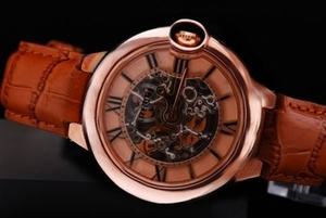 Modern Cartier Ballon Bleu de Cartier Automatic Rose Gold Case and Dial AAA Watches [P7C2]