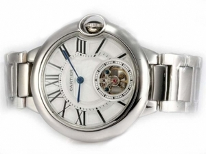 Modern Cartier Ballon Bleu de Cartier Tourbillon Manual Winding AAA Watches [U7D4]