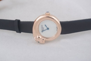 Modern Cartier Classic Quartz Rose Gold Case with White Dial AAA Watches [L4E9]