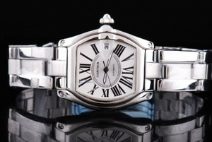 Modern Cartier Roadster Automatic with White Dial and Roman Numeral AAA Watches [S9Q2]