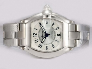 Modern Cartier Roadster Automatic with White Dial AAA Watches [L7W5]