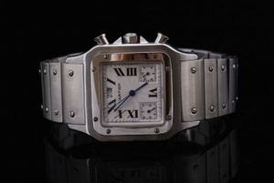 Perfect Cartier Santos 100 Automatic Movement with White Dial AAA Watches [H1P1]