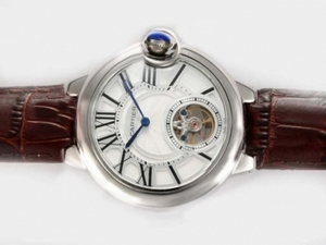 Vintage Cartier Ballon Bleu de Cartier Tourbillon Manual Winding AAA Watches [O8R5]