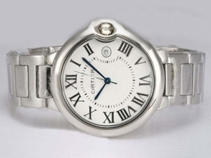 Vintage Cartier Ballon Bleu de Cartier with White Dial Medium Size AAA Watches [B2K5]